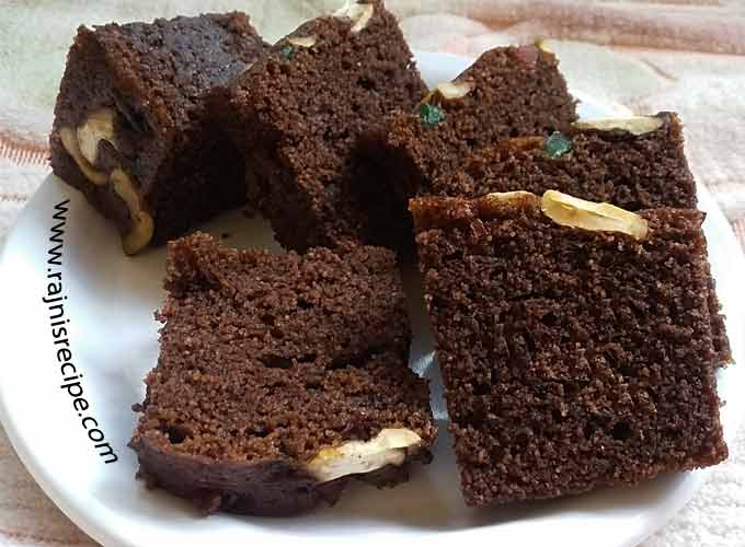 How to bake chocolate cake in pressure cooker without oven for How to make home cake without oven